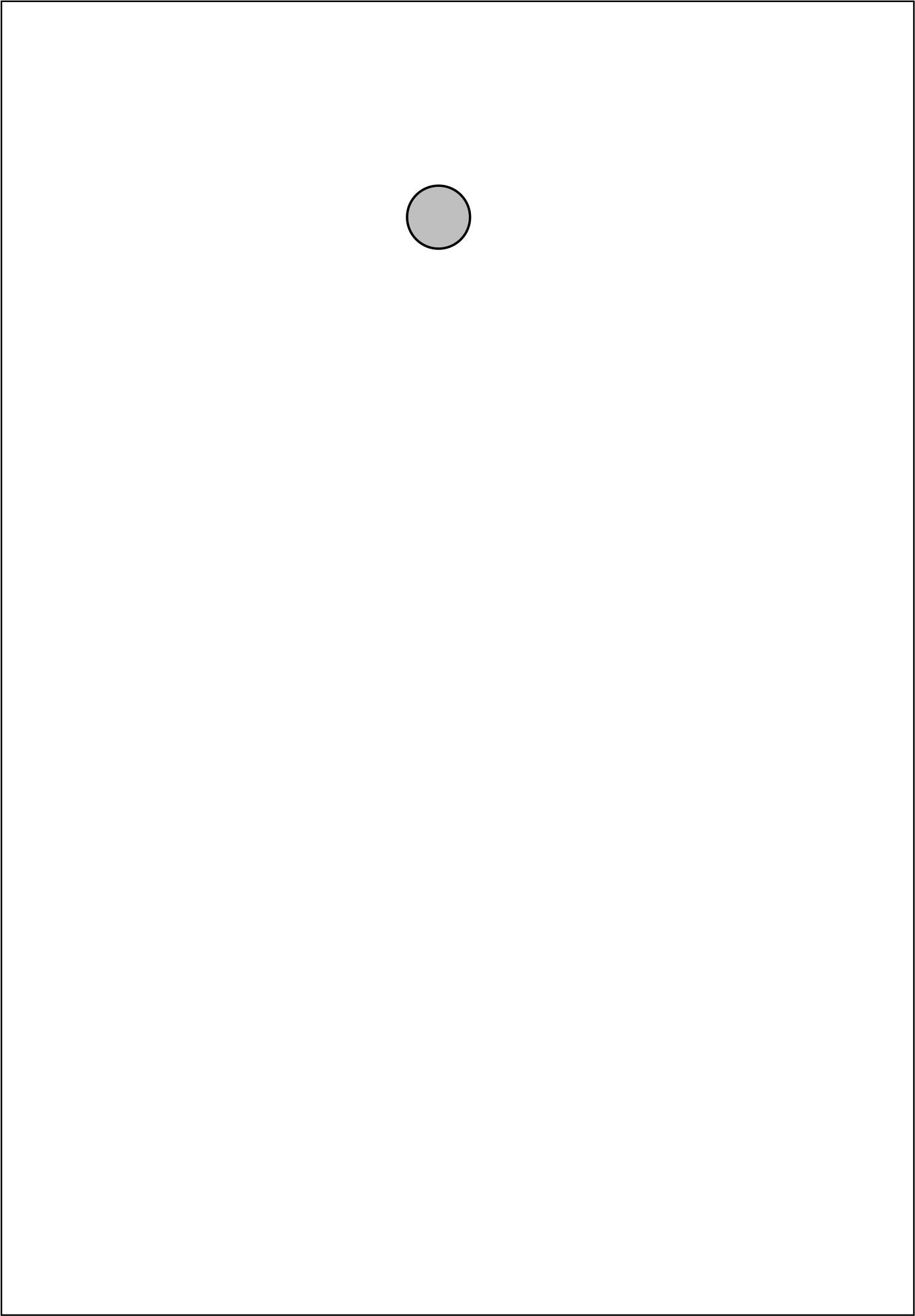 Papierbeutel mit Aufhängeloch